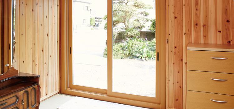 内窓(断熱)、ペアガラス