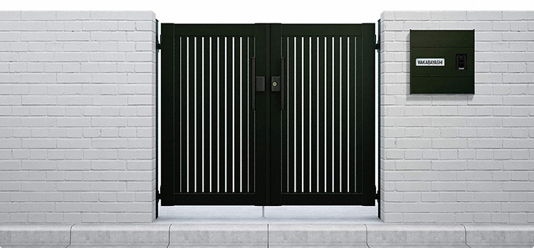 門扉をつける